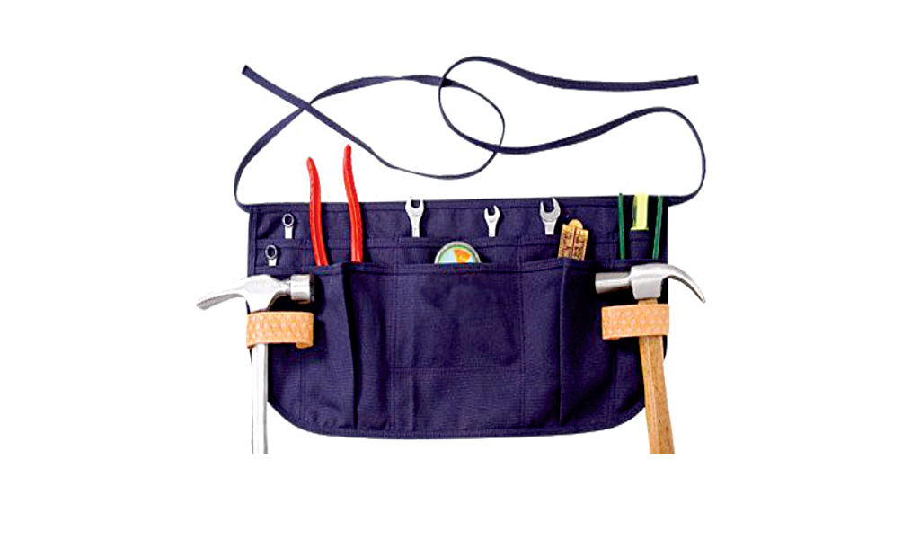 12 Pockets Waist Apron