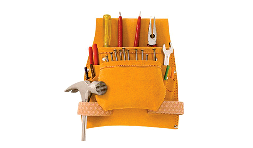 8 POCKET NAIL AND TOOL POUCH